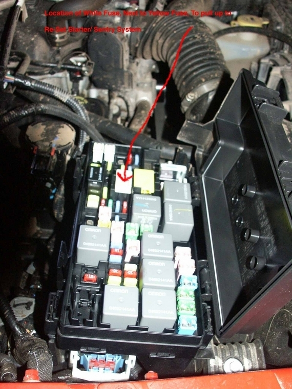 Help  Jk Won U0026 39 T Start Throughout 2013 Jeep Wrangler Fuse