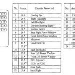 Honda Accord Fuse Box Diagram - Honda-Tech throughout Honda Civic 2000 Fuse Box