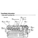 Honda Civic Del Sol Fuse Box Diagrams - Honda-Tech within Honda Civic 1993 Fuse Box Diagram