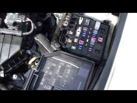 How To Check And Change Fuses Honda Civic. Year Models 2006-2011 with regard to 2006 Honda Civic Fuse Box Location
