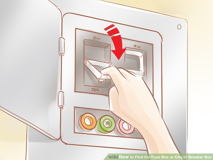 How To Find The Fuse Box Or Circuit Breaker Box: 12 Steps intended for Circuit Builder The Fuse Box