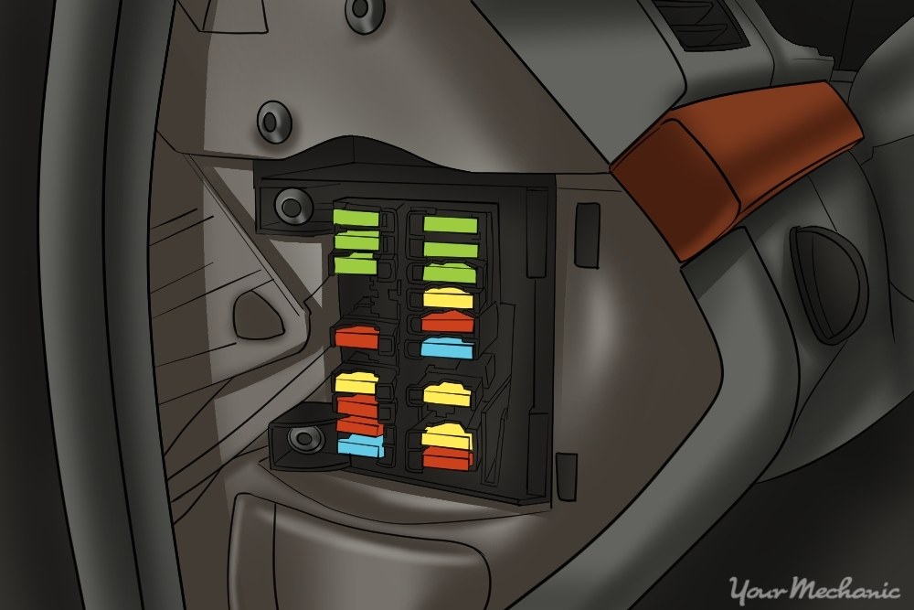 Car fuse box repair and wiring diagram