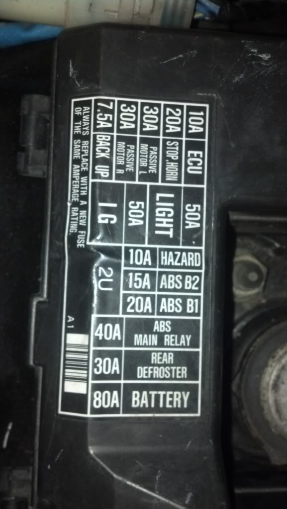 1990 acura integra fuse box diagram