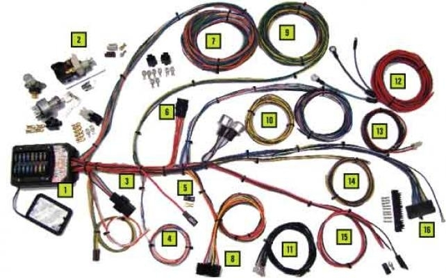 Jamco Parts - Electrical Wiring Harnesses 19 Circuit Builder Kit regarding Circuit Builder The Fuse Box