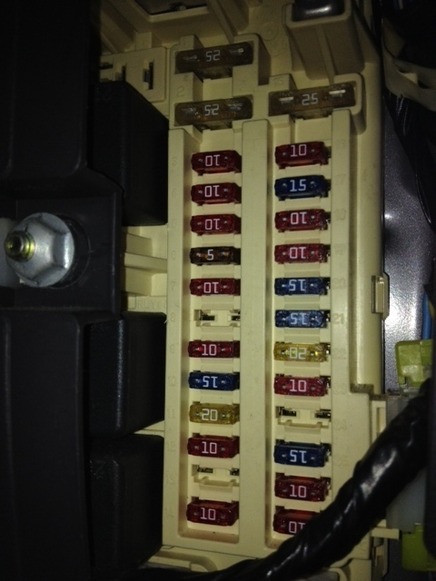 Jeep Cherokee Electrical - 1997 - 2001 Xj Fuse & Relay within 2000 Jeep Cherokee Fuse Box Diagram