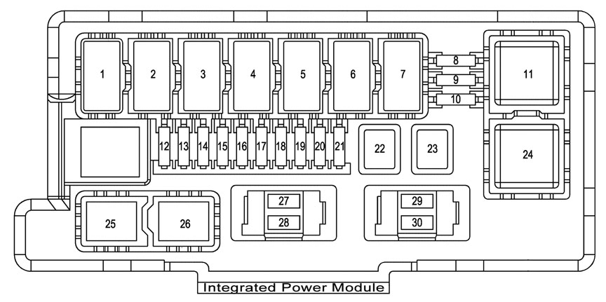 2008 jeep commander fuse box diagram