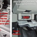 Jeep Grand Cherokee Wk - Interior Trim Removal intended for 2000 Jeep Grand Cherokee Fuse Box Location