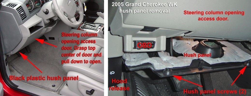 Jeep Grand Cherokee Wk - Towing inside 1994 Jeep Grand Cherokee Fuse Box Location