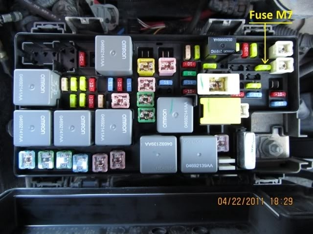 on where is the fuse box on a 2012 jeep wrangler