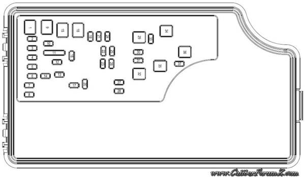 Layout Of The Fuse Box - Page 3 regarding Dodge Caliber Fuse Box