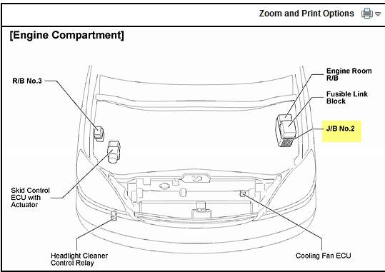 lexus rx330 fuse box diagram