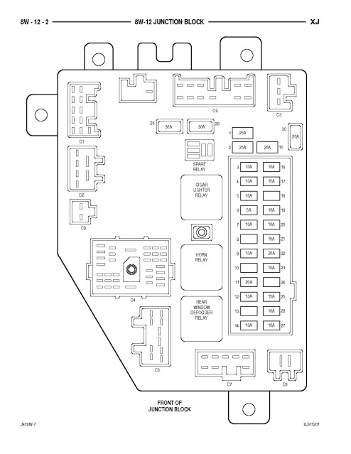 2010 Jeep Patriot Fuse Box Diagram on Jeep Wrangler Fuse Box