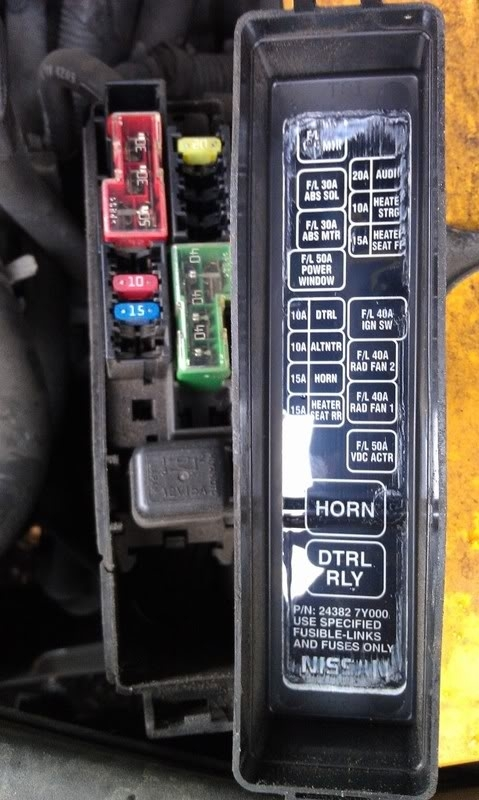 Nissan Fuse Box. Nissan. Automotive Wiring Diagrams in 97 Maxima Fuse Box Diagram