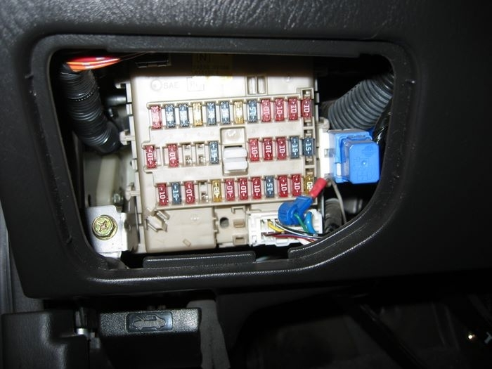 Nissan Maxima How-To's By Housecor :: How To Change Fuel Filter with regard to 2005 Nissan Maxima Fuse Box
