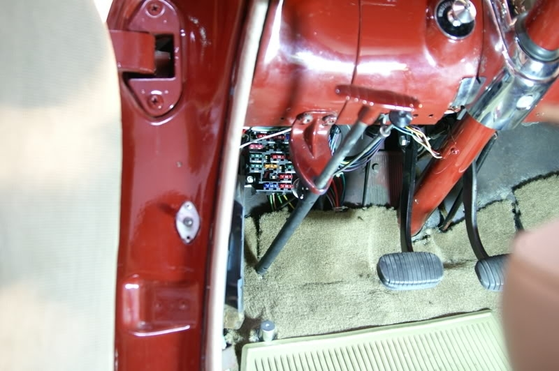 Pics Of The Aaw Fuse Box Area - Trifive, 1955 Chevy 1956 Chevy for 1955 Chevy Fuse Box