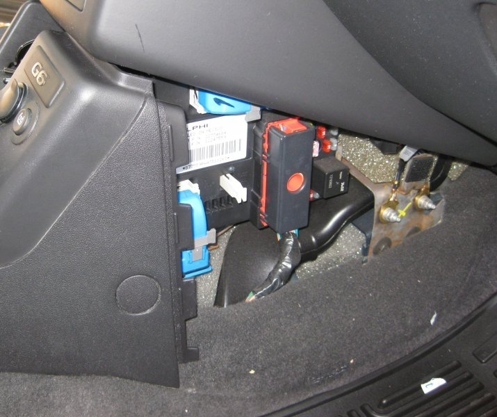 Pontiac G6 Ft-7800R Installation | Na0Q Ham Radio with regard to Pontiac G6 Fuse Box