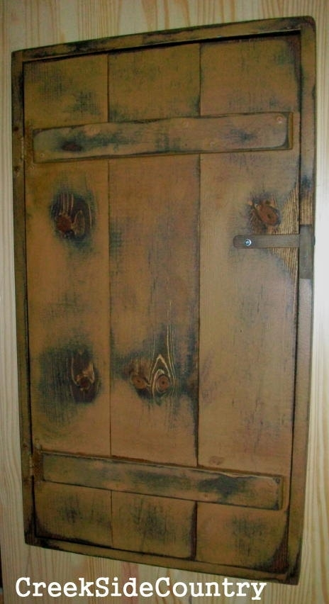 Primitive Wood Circuit Breaker Fuse Box Cover By Creeksidecountry for Circuit Builder The Fuse Box