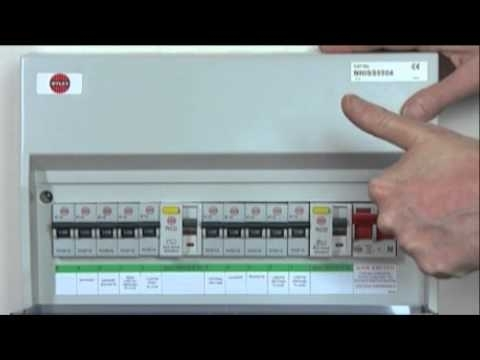 Resetting Trip Switches On Your Fuse Box - Youtube within How To Reset Old Fuse Box