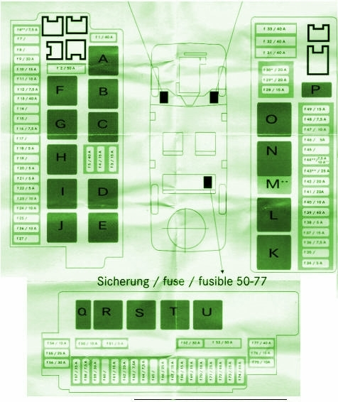 2002 Mercedes S500 Fuse Box Diagram