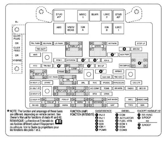 2004 chevy silverado fuse box   29 wiring diagram images