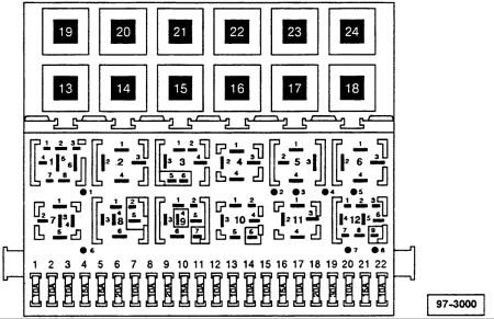 Solved: Fuse Panel Diagram For 2005 Vw Jetta 2.5 - Fixya throughout 2005 Vw Golf Fuse Box Diagram
