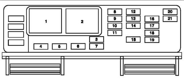Solved: I Need A Diagram Of A Fuse Box For A 2004 Ford - Fixya with 2006 Ford Freestar Fuse Box Diagram