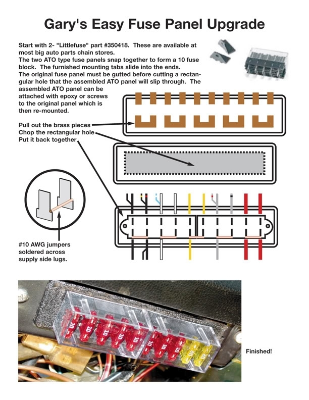 Thesamba :: Beetle - Late Model/super - 1968-Up - View Topic with 1970 Vw Beetle Fuse Box