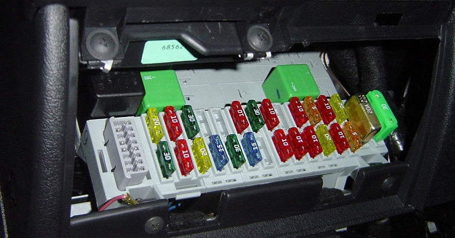 car fuse box repair