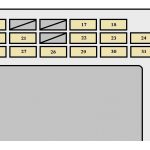 Toyota Corolla Mk9 (9Th Generation; 2002 – 2004) – Fuse Box intended for Toyota Fuse Box Diagram