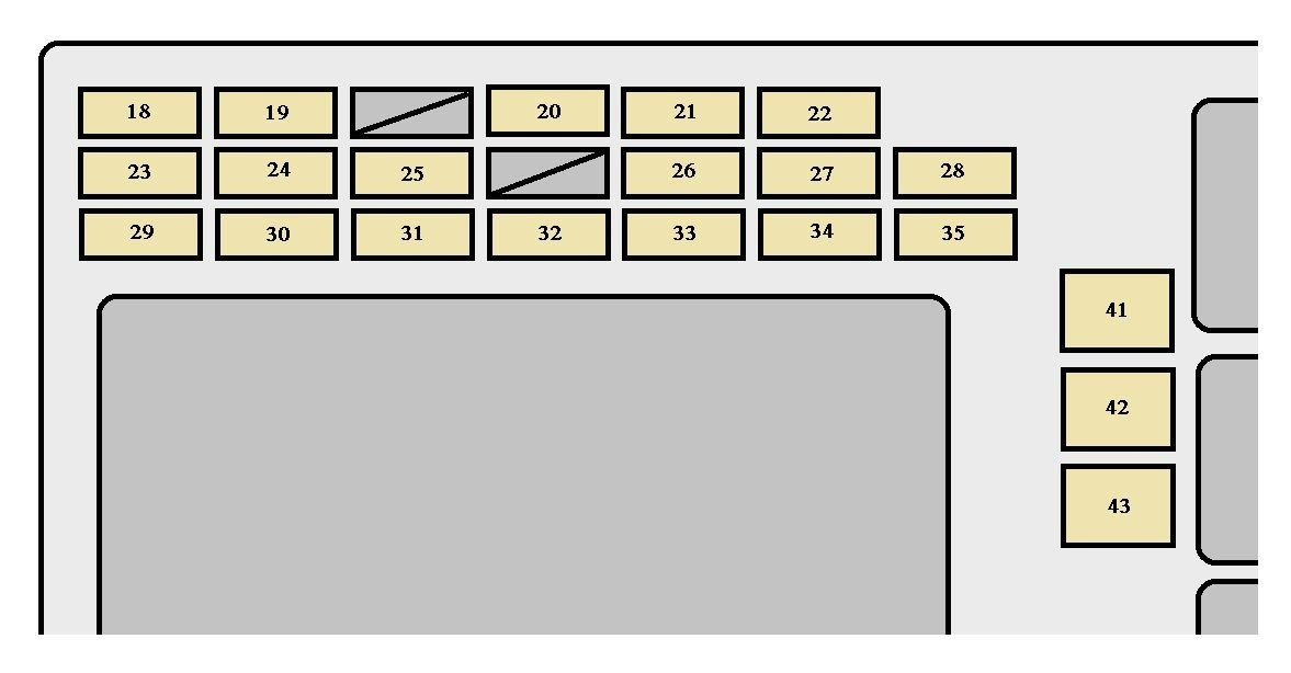 Toyota Corolla Mk9 (9Th Generation; 2005 – 2007) – Fuse Box pertaining to 2007 Toyota Corolla Fuse Box Diagram