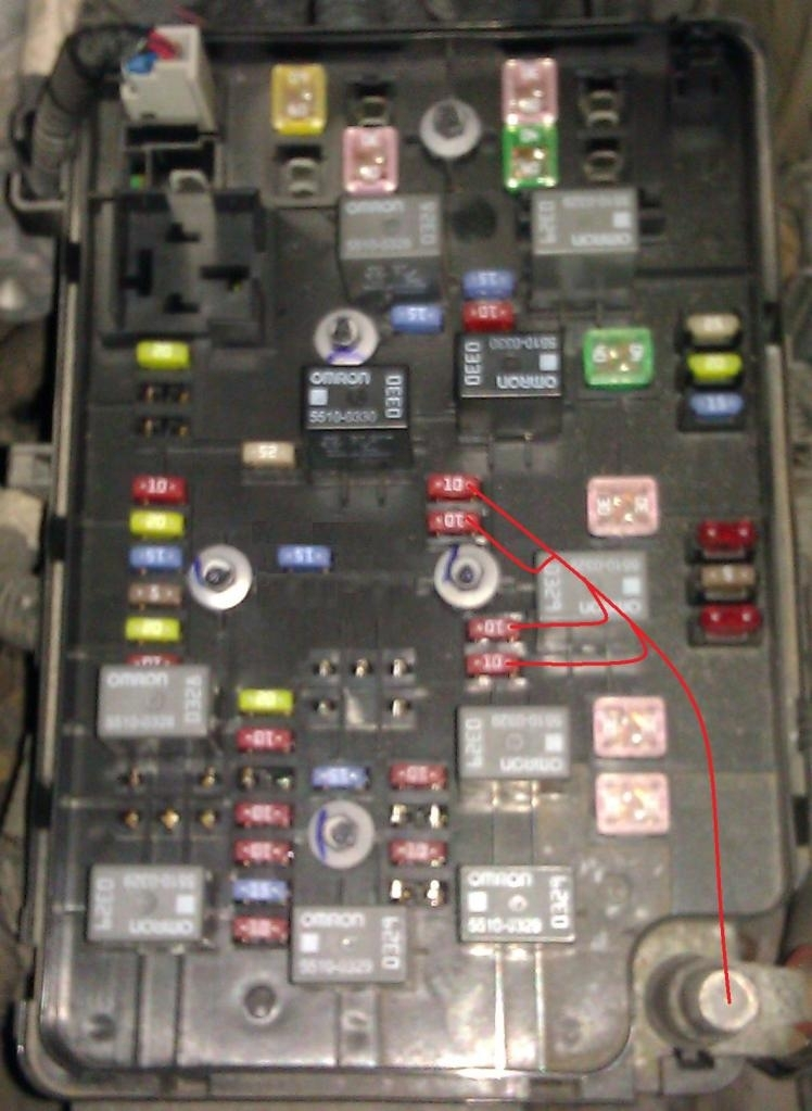 Chevy Cobalt Fuse Box