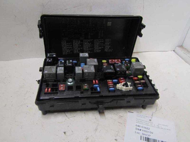 2011 Chevy Cruze Fuse Box
