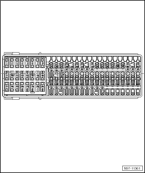 Volkswagen Jetta 2.0T: Layout Of The Fuse Box Needed within 2013 Jetta Fuse Box