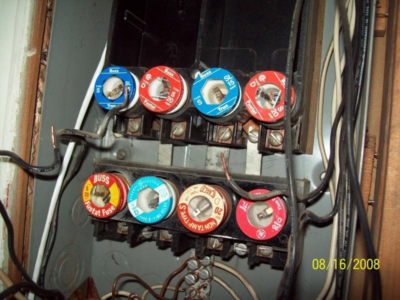 Change Fuse Panel To Circuit Breaker : Fuse box or circuit breaker and wiring diagram