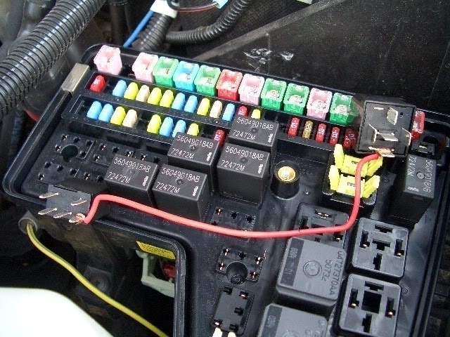 Dodge ram fuse box and wiring diagram