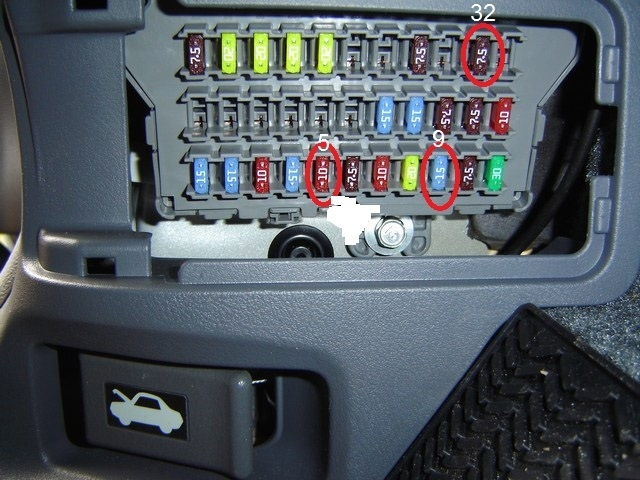 Honda Car Fuse Box : Where are the resisters for car radio in a