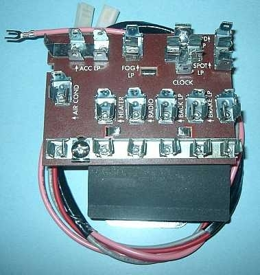 Wiring In A Light And A Relay, For Electric Fuel Pump - Trifive pertaining to 1957 Chevy Bel Air Fuse Box Location