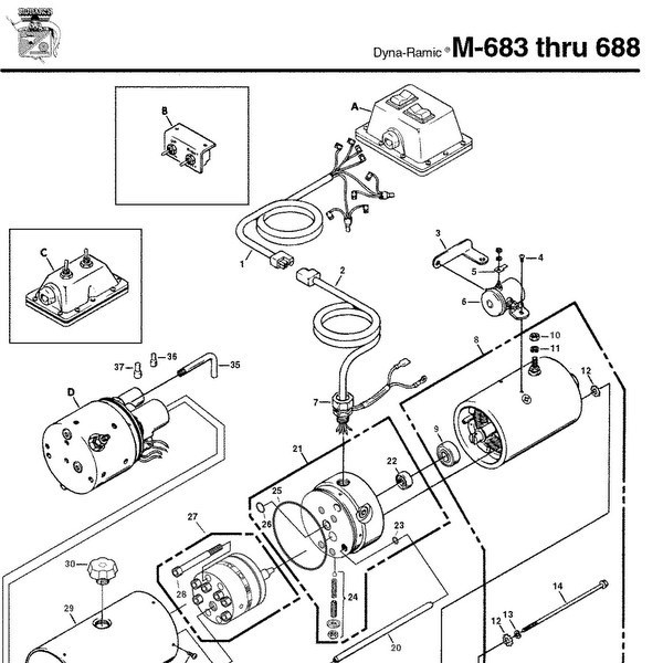 12 volt hydraulic pump wiring diagram with 12 volt
