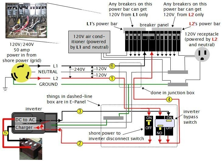 240v Fuse Box Wiring Diagram : V camper wiring diagram vw pinterest