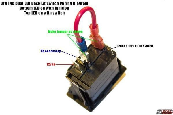 12V Light Switch Wiring Diagram | Boulderrail pertaining to Lighted Toggle Switch Wiring Diagram
