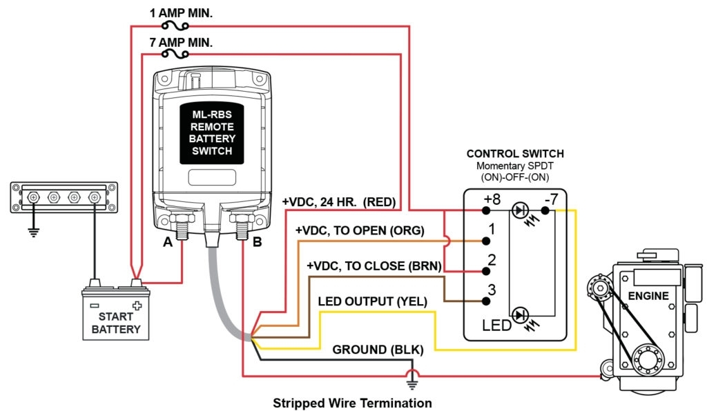 12V Switch Panel Wiring Diagram With 7700 7702 - Wiring Diagram throughout 12V Switch Panel Wiring Diagram