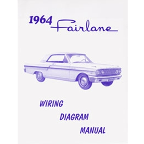 1964 Ford Fairlane Wiring Diagram 64 Fairlane pertaining to 1964 Ford Fairlane Wiring Diagram