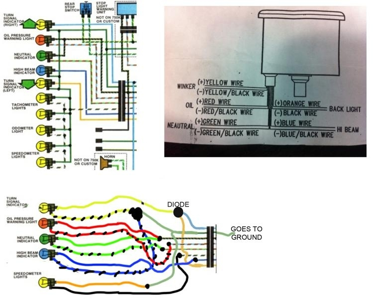 1980 Honda Cb750 Wiring Diagram | Fuse Box And Wiring Diagram