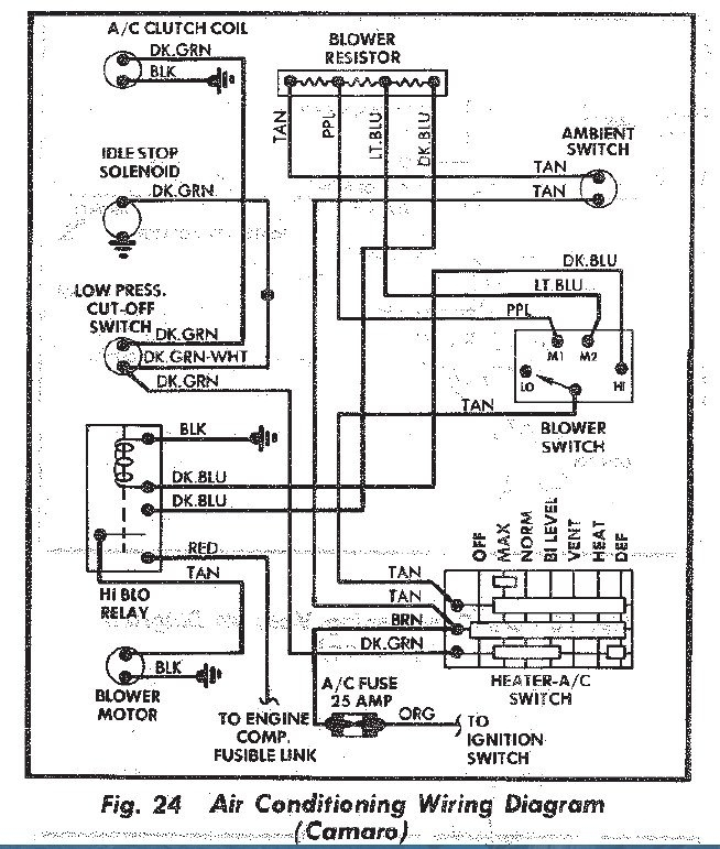 1957    Chevy       Electrical       Wiring       Diagrams    Heater   Fuse Box And    Wiring       Diagram