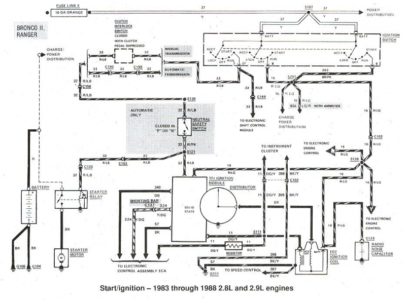 1983 Ford Bronco Wiring Diagram. Ford. Wiring Diagram Instructions with regard to 1983 Ford F150 Wiring Diagram