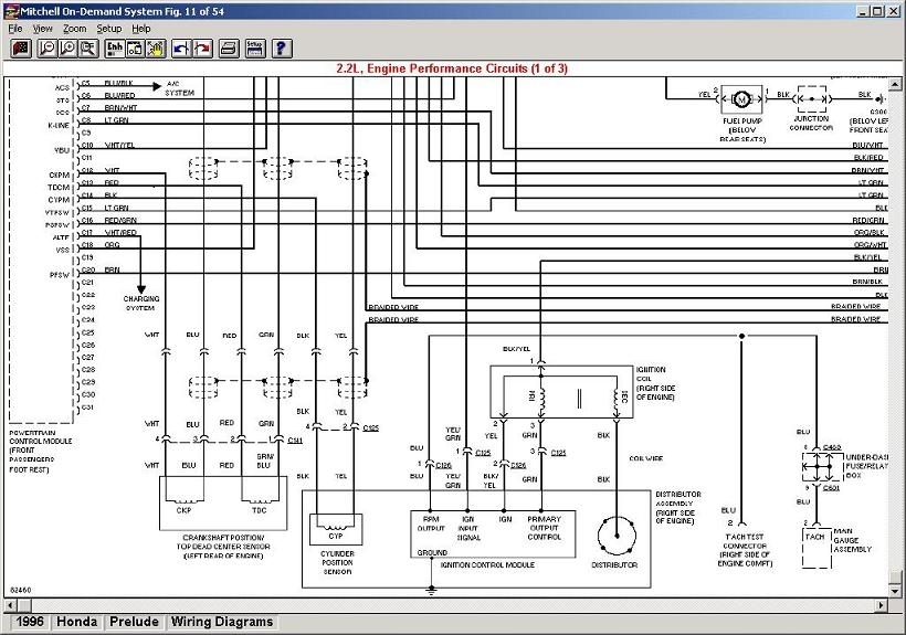 1988 Honda Accord Wiring Diagram Fuse Box Honda Genio Fuse Wiring pertaining to 2001 Honda Prelude Wiring Diagram