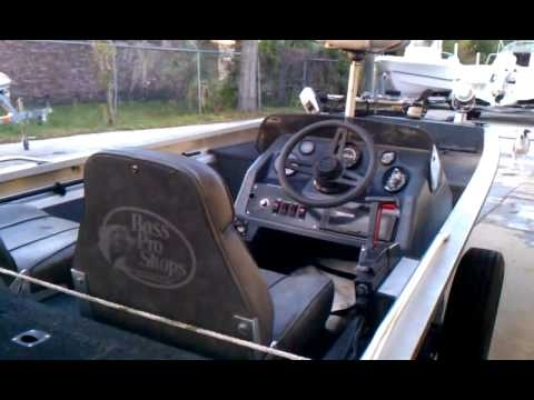 1989 Bass Tracker Pro 17 Mercury 35 Hp Outboard & Trailer - Youtube for 1989 Bass Tracker Pro 17 Wiring Diagram