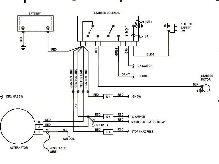 Wiring Diagram For 1987 Jeep Wrangler : Jeep yj wiring diagram images
