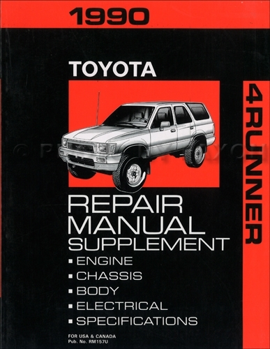 1990 Toyota 4Runner Wiring Diagram Manual Original pertaining to 1990 Toyota 4Runner Wiring Diagram