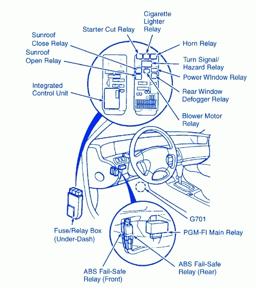 Honda prelude wiring diagram fuse box and